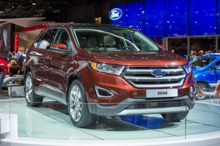El Ford Edge Diesel 2015 llegará con 180 y 210 cv
