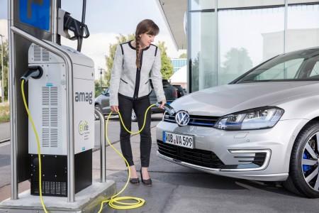 Volkswagen presume de gama eléctrica