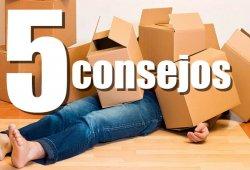 5 consejos básicos para realizar correctamente nuestra mudanza
