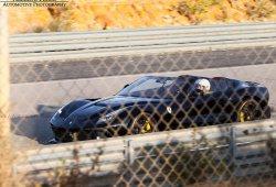 Avistado un Ferrari F12 TRS Negro en el Circuito de Monteblanco