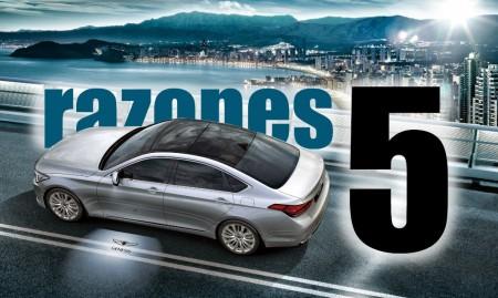 5 razones para amar el nuevo Hyundai Genesis Sedán
