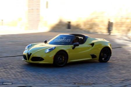 Alfa Romeo 4C Spider en vídeo. Exclusiva