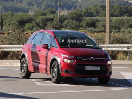 Un avistamiento realmente sorprendente ¿Qué esconde esta Citroën C4 Picasso?