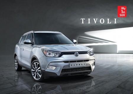 SsangYong Tivoli, así es el pequeño SUV coreano en sus primeras imágenes