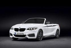 El BMW Serie 2 Cabrio estrena lista de accesorios M Performance
