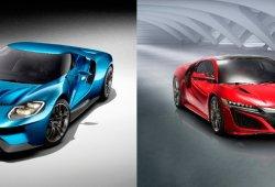 Ford GT 2015 vs Honda NSX 2015, dos conceptos para un solo propósito