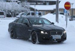 Jaguar XJ 2016, fotos espías de su próxima actualización