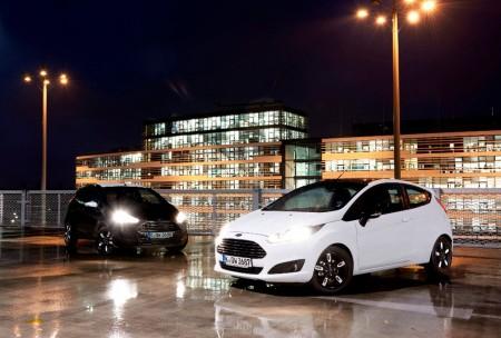 En blanco y negro: edición especial 'Black & White' para los Ford Fiesta y Ford Ka