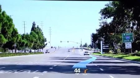 Así se ve el nuevo Head-Up Display de realidad aumentada del Hyundai Genesis