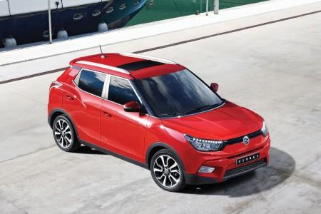 SsangYong Tivoli, el nuevo SUV urbano se hace oficial