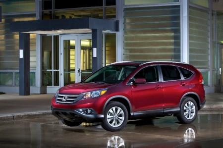 Estados Unidos - Diciembre 2014: El Honda CR-V se pone cómodo en los primeros puestos