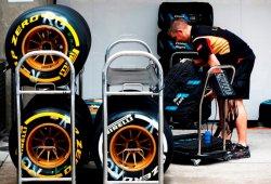 Datos de los neumáticos Pirelli en los test F1 de Barcelona