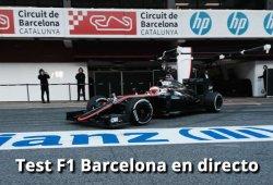 Test F1 Barcelona 2015: En directo el día 2 en Montmeló