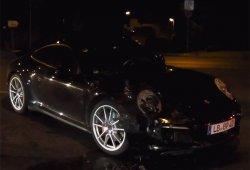 El Porsche 911 2015 descubierto casi al completo en un accidente