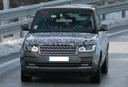 Range Rover Hybrid 2016 avistado de pruebas