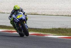 Rossi lidera el primer día de los segundos test de MotoGP en Sepang