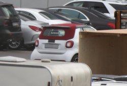El Smart Fortwo Cabrio 2016 se pasea sin camuflaje