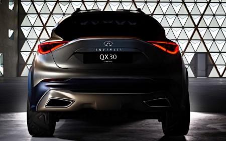 Infiniti QX30 Concept, otra novedad para el Salón de Ginebra 2015