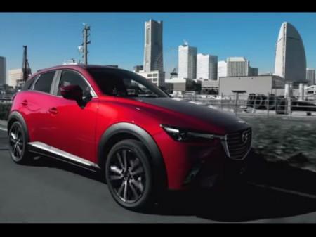Mazda CX-3 en movimiento