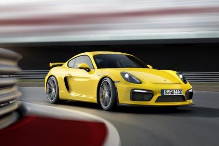 Porsche Cayman GT4 2015, desde 99.094 euros en España