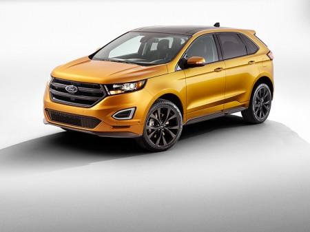 Ford lanzará una versión deportiva de su gran SUV Edge
