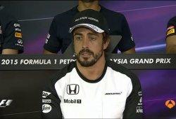 Alonso explica su accidente: Ni viento, ni problema físico, falló la dirección