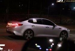 El Kia Optima 2016 se pasea completamente al descubierto