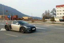 El Hyundai Veloster con motor central, en pruebas