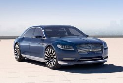 Lincoln Continental 2016, vuelve la máxima expresión del lujo americano