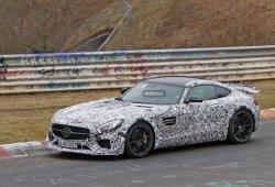 El Mercedes-AMG GT Black Series ya rueda en Nürburgring