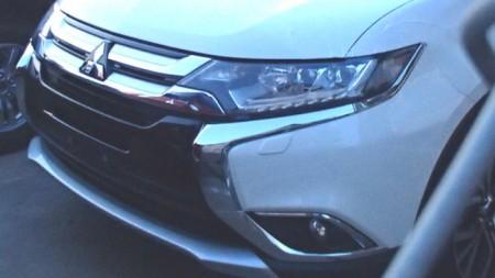 Se filtra el frontal del Mitsubishi Outlander 2016