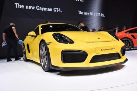 Porsche Cayman GT4 2015, un nuevo miembro para la familia GT (con vídeo)