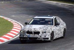 Pillamos al BMW Serie 5 2016 dando vueltas al circuito de Nürburgring