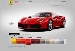 Dale rienda suelta a tu imaginación, configura tu Ferrari 488 GTB