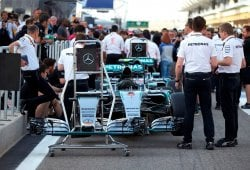 Mercedes admite tener un extra de potencia en clasificación