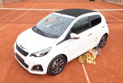 Peugeot 108 Open, edición especial inspirada en el tenis