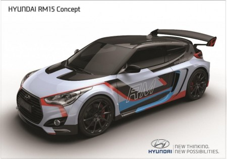 Hyundai RM15 Concept, el Veloster con motor central se presenta en Seúl (con video)