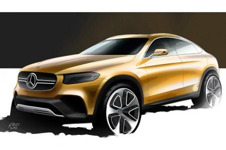 """Mercedes GLC Coupe, confirmado: un nuevo prototipo """"crossover"""" en Shanghai"""