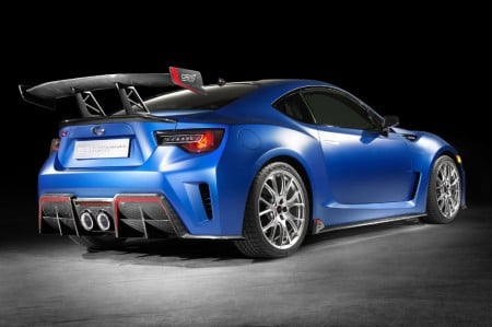 El Subaru BRZ STI Performance Concept 2015 se asoma en New York
