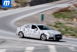Los Audi A4 y S4 2016 grabados en una de sus pruebas en España