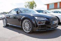 Audi TT RS 2016, la mula de pruebas ya circula por la carretera