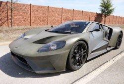 Un nuevo vistazo al Ford GT 2017, primeros pasos para el deportivo