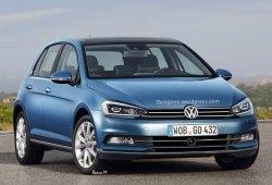 """Volkswagen Golf 2016, anticipando el diseño de su próximo """"restyling"""""""
