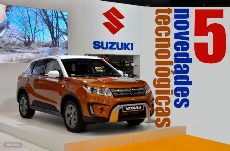 Suzuki Vitara 2015 y sus 5 novedades tecnológicas