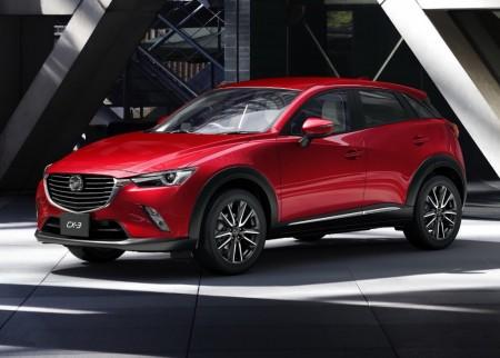 Australia - Abril 2015: El Mazda CX-3 llega para triunfar