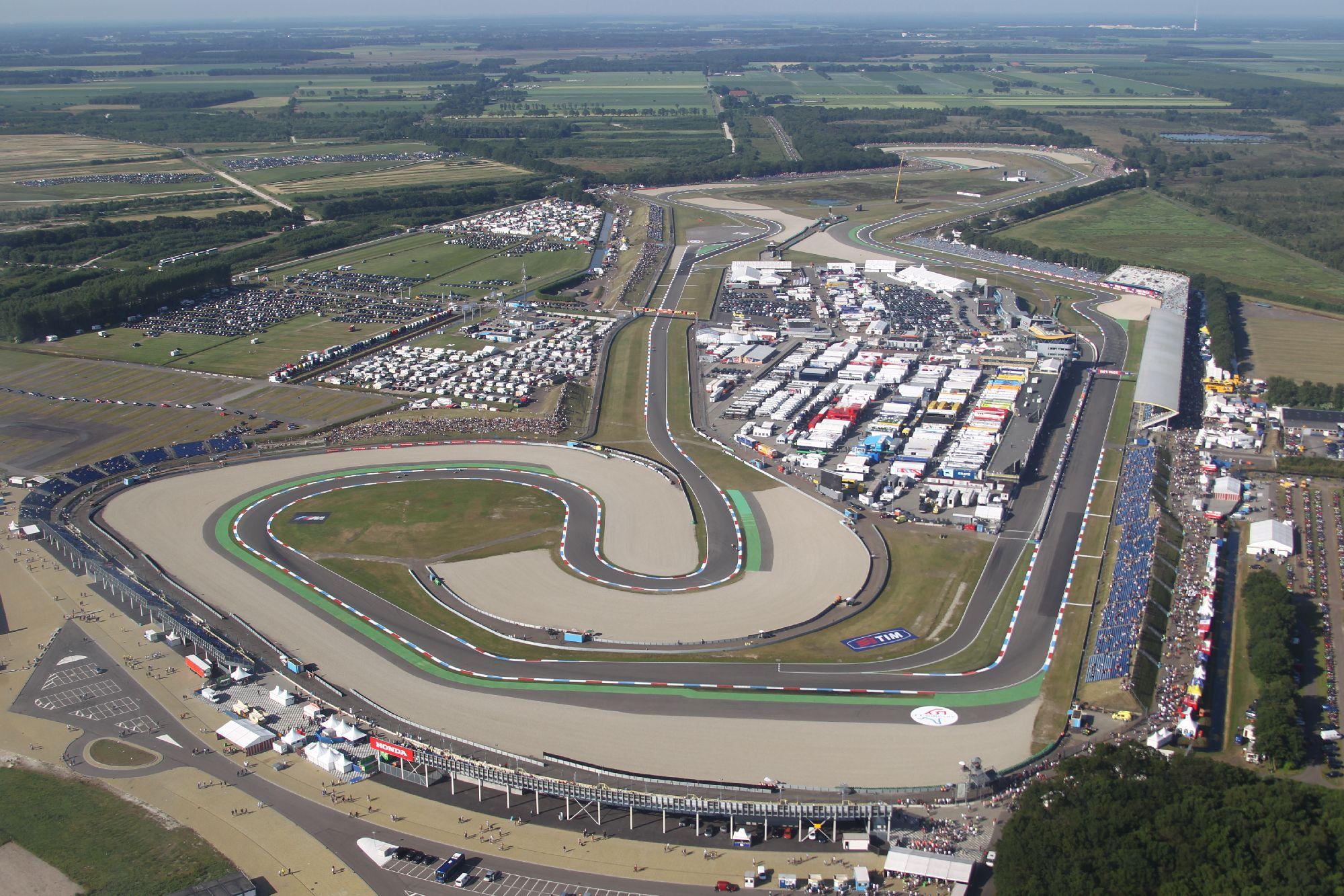 Circuito Holanda : Motogp horarios del gp de holanda y datos del circuito de