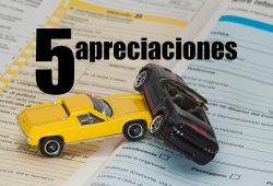 5 apreciaciones a tener en cuenta en tu seguro de coche