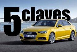 Audi A4 2015, las cinco claves que marcan a la quinta generación