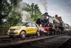 Smart ForRail, el ForFour que soñaba con ser un tren