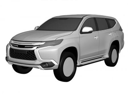 Mitsubishi Montero 2017, se filtran las patentes de su diseño